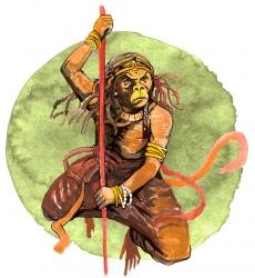 Пифик — это то ли род обезьян, то ли представление их качеств.
