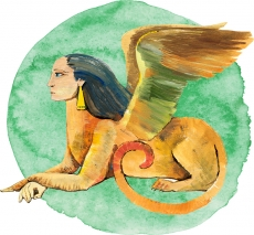 Финкс, сфинкс — животное-образ, символизирующее высший принцип единения.